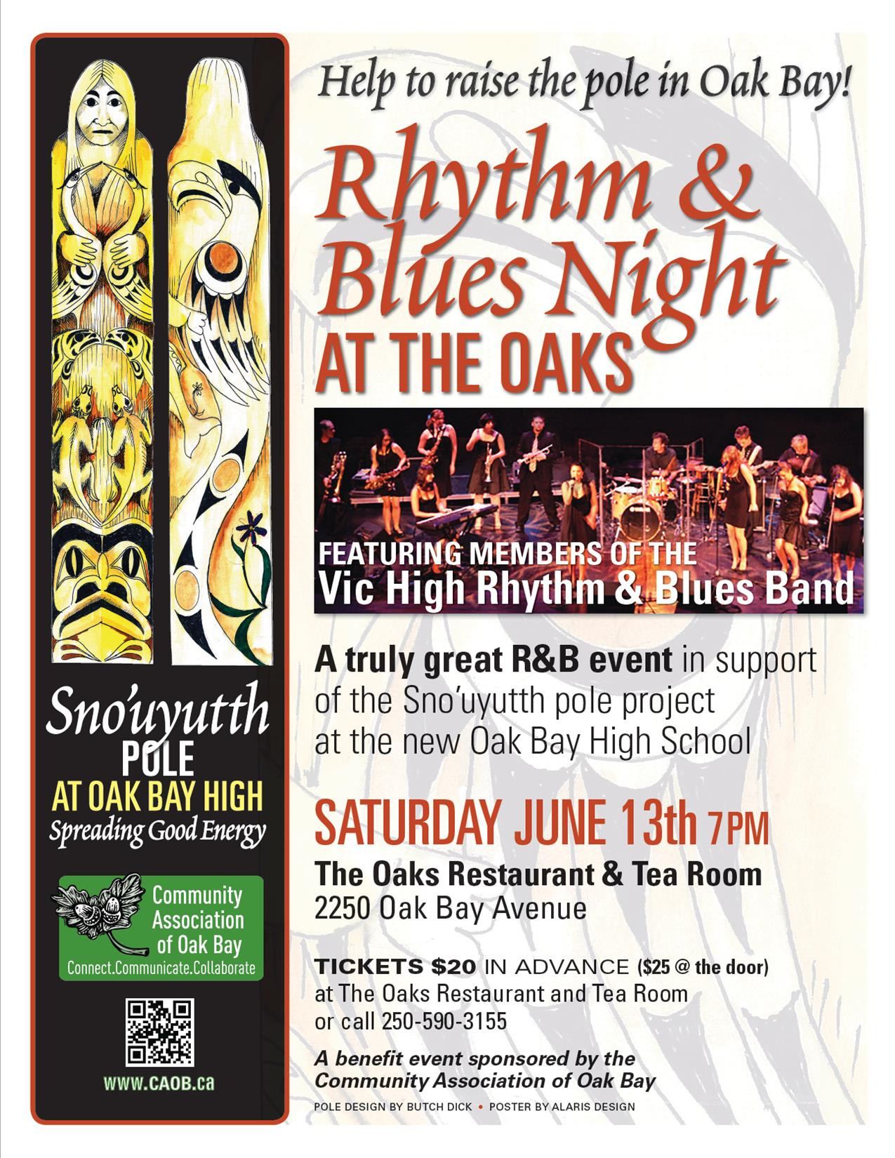 Rhythm & Blues Night at the Oak