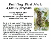 2016 Apr Building Bird Nests poster jpeg